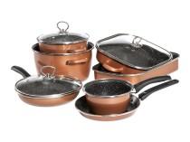 CopperLUX Набор кухонной посуды Stone Legend Mega