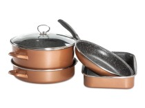 CopperLUX Набор кухонной посуды Stone Legend Grande