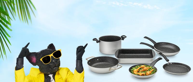 Коллекция посуды Delimano
