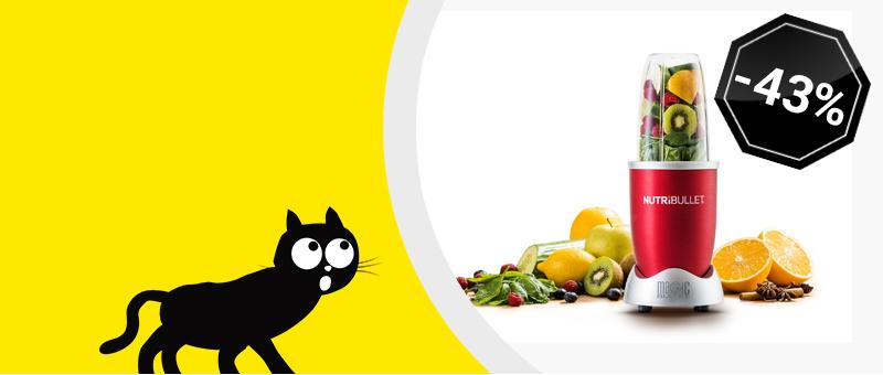 Экстрактор питательных веществ Nutribullet Красный - Сейчас со СКИДКОЙ 1000 леев!