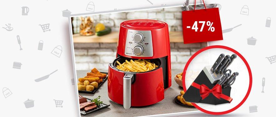 Фритюрница с горячим воздухом Air Fryer Pro