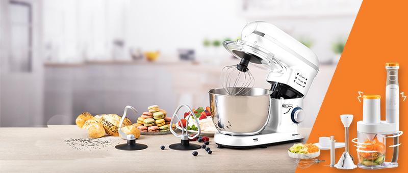 Кухонный робот (Белый)